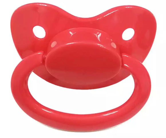 Red Adult Pacifier