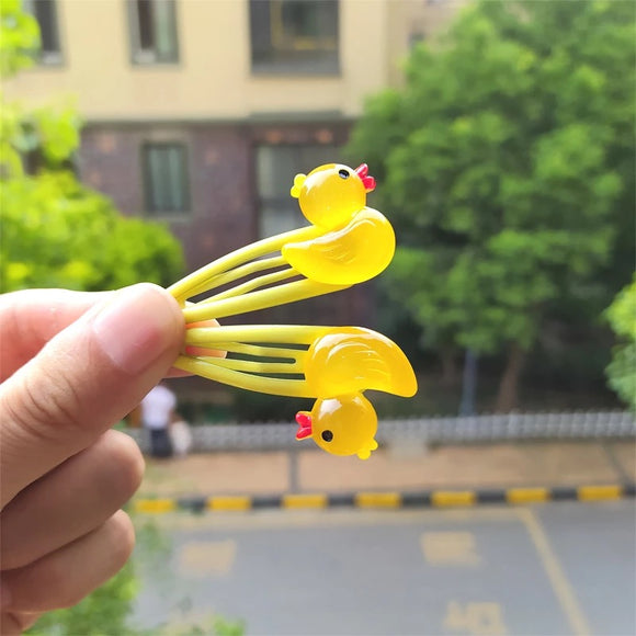 Duck Hair Slides