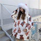 Teddy Bear Parka Coat
