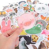 DDLGVERSE Animal Stickers Pack - close up of pig