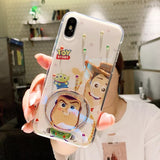 DDLGVERSE Toy Story iPhone Case Woody Clear