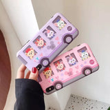 Duffy Bear & Friends Bus iPhone Case