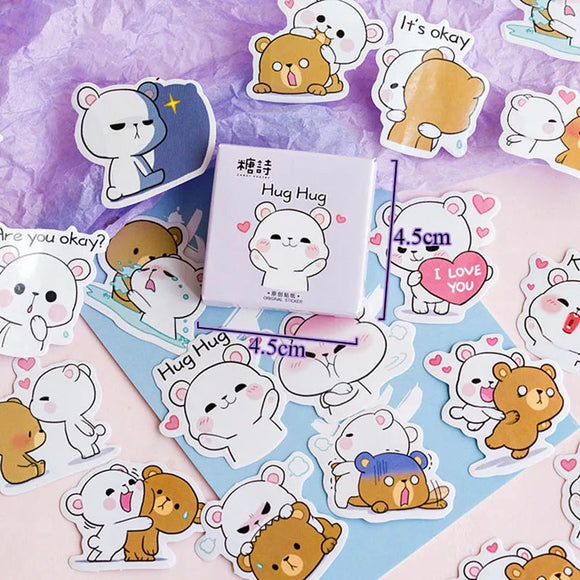 Kawaii Bear Stickers
