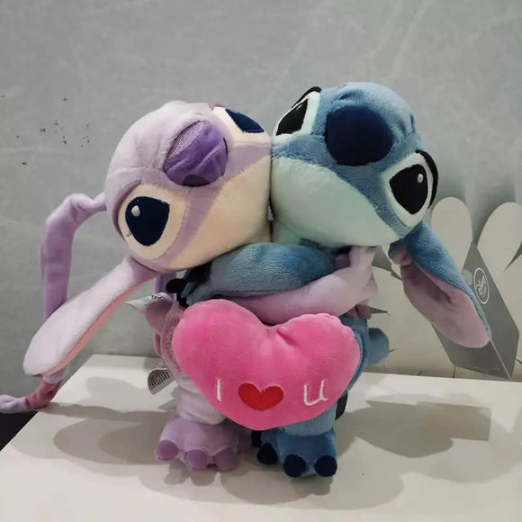 DDLGVERSE Stitch and Angel Love Stuffies