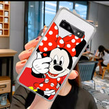 DDLGVERSE Disney Clear Samsung Case Minnie