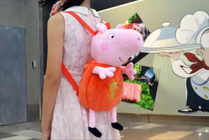 DDLGVERSE George Pig Plush Backpack