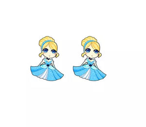 DDLGVERSE Cinderella Stud Earrings