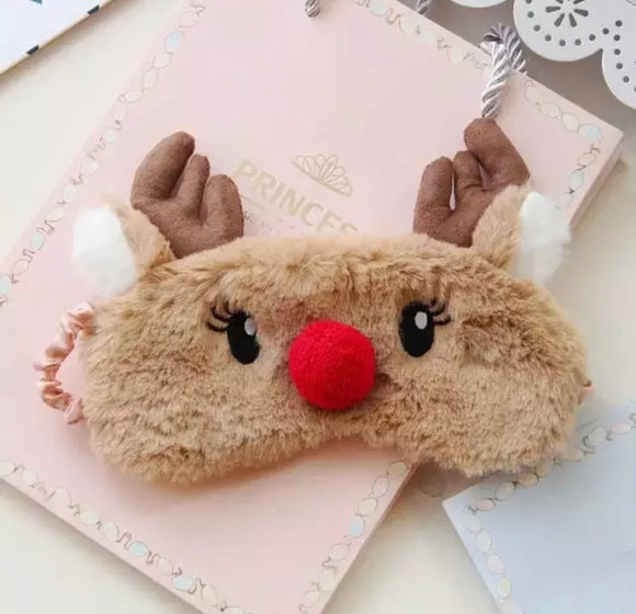 Reindeer Sleep Mask