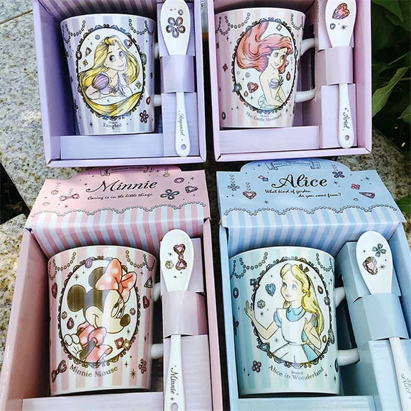 Princess Mug & Spoon Set