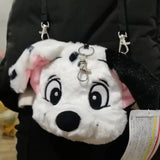 DDLGVERSE Dalmatian Plush Bag Side View