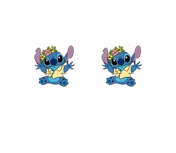 DDLGVERSE Stitch Hawaii Stud Earrings