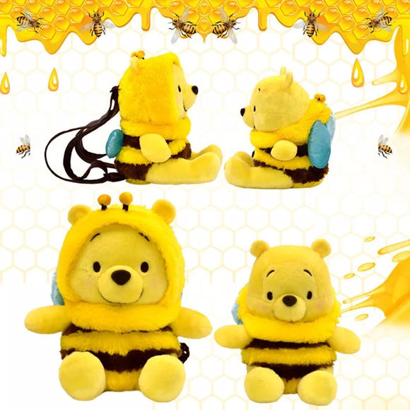DDLGVERSE Winnie the Pooh Plush Backpack 4 angles