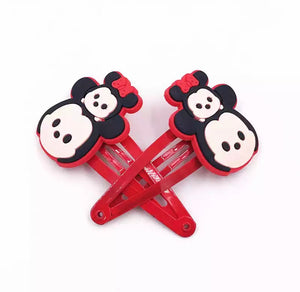 DDLGVERSE Minnie and Mickey Hair Clips
