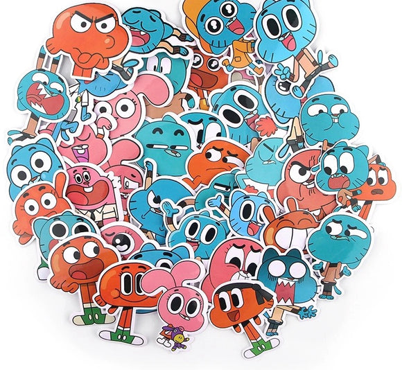 Amazing World of Gum ball Stickers