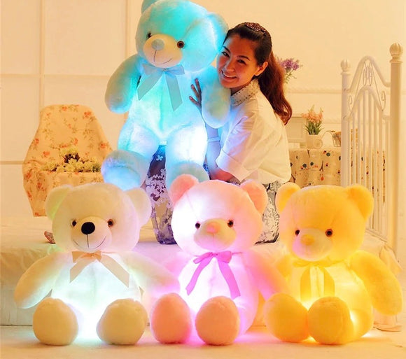 Giant Light Up Bear