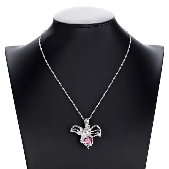Dumbo Jewelled Necklace