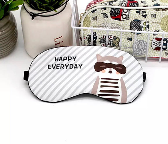 Happy Raccoon Everyday Blindfold