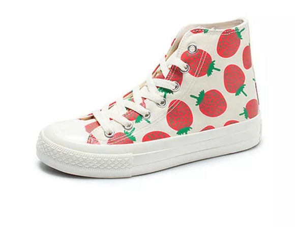 Strawberry High Tops