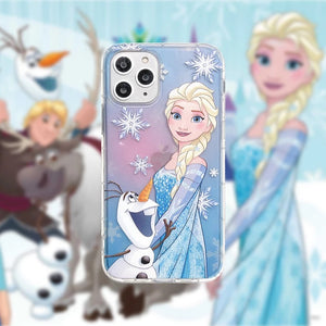 DDLGVERSE Frozen iPhone Case Pink and Purple