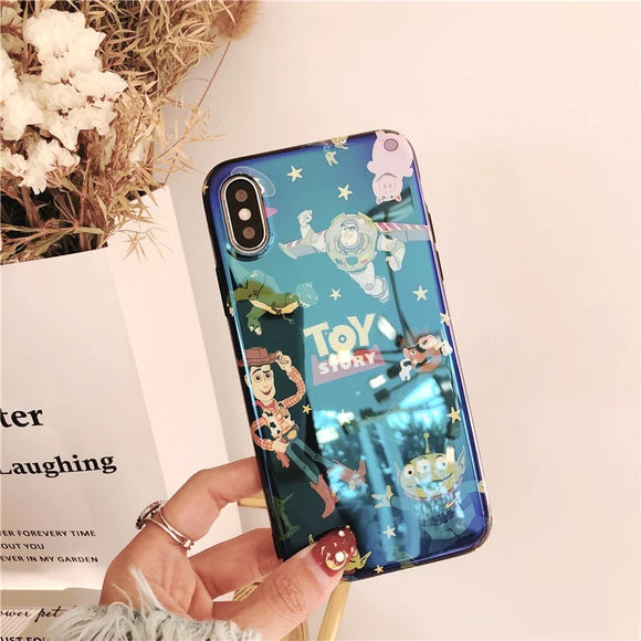 DDLGVERSE Toy Story iPhone Case Navy