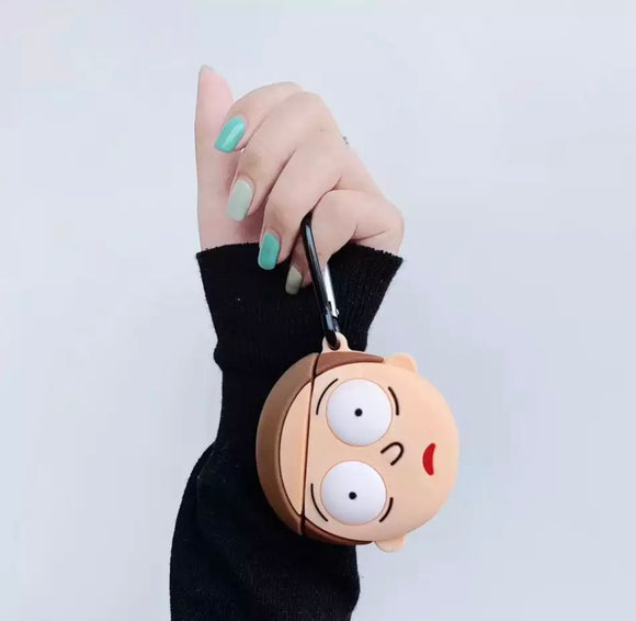 DDLGVERSE Morty Head AirPods Case