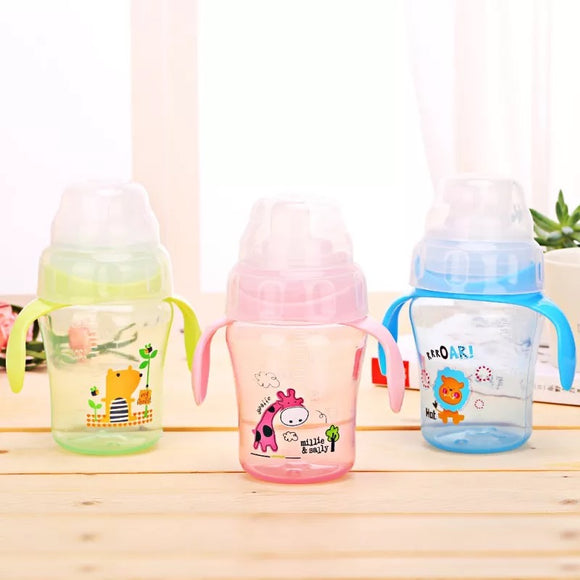 DDLGVERSE Animal Sippies Green, Pink,Blue