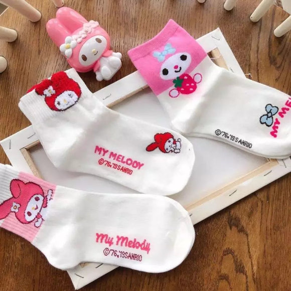 DDLGVERSE My Melody Socks 3 Different Designs