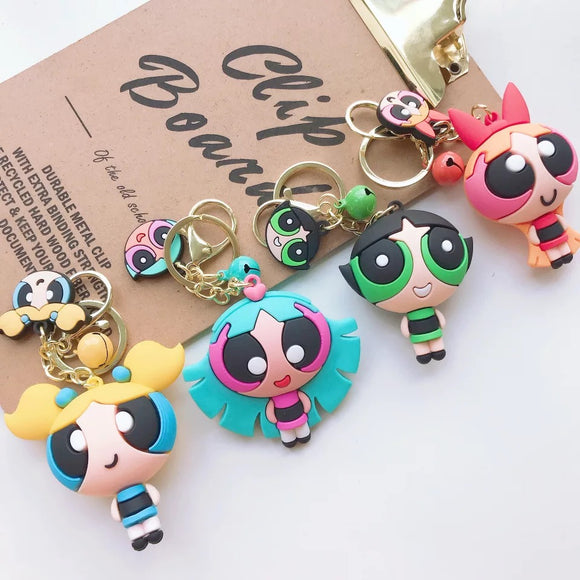 PowerPuff Girls Keyrings