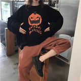 Nothing Matters Pumpkin Sweater