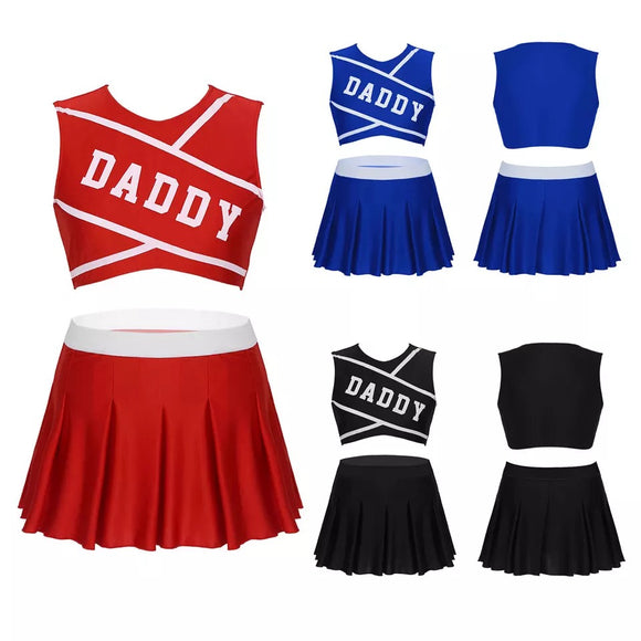 Daddy Cheerleading Outfit