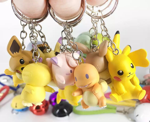 DDLGVERSE Pocket Monster Keyrings Multiple Choices