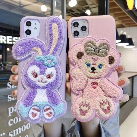 DDLGVERSE Stellalou iPhone Cases Stellalou and ShellieMay