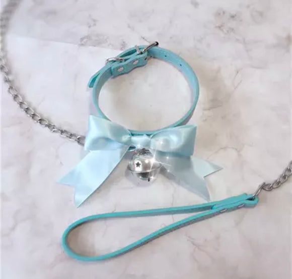 Bow Collar & Leash