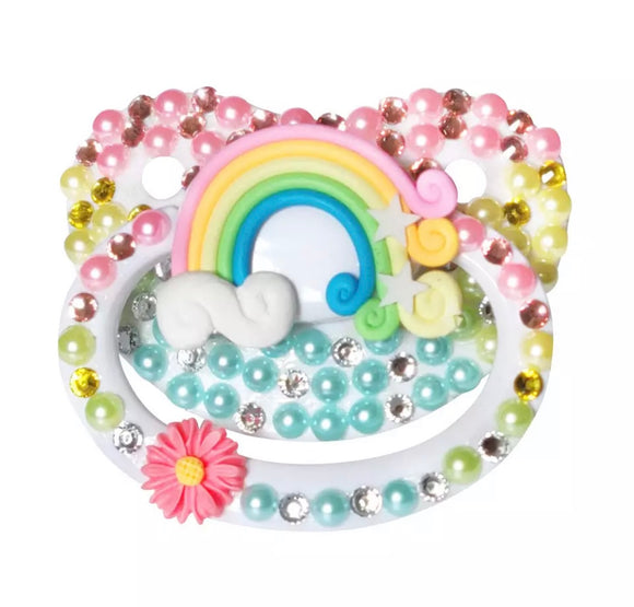 Rainbow Adult Pacifier