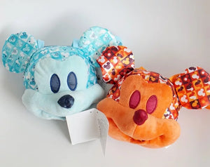 DDLGVERSE Mickey Mouse Bags Big Blue and Orange, Small Blue and Orange
