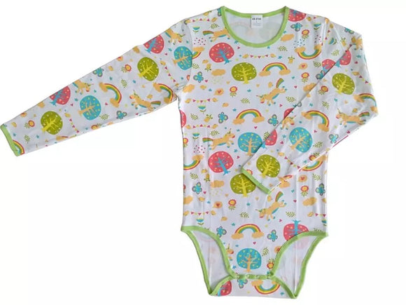Enchanted Forest Long Sleeve Onesie