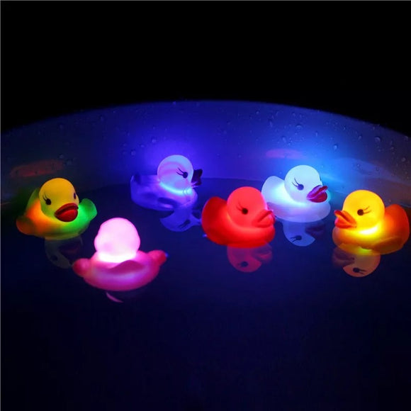 Glow in the Dark Bath Ducks