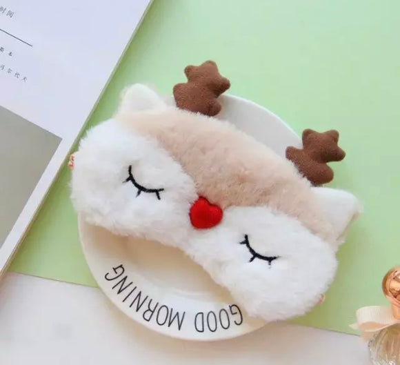 Sleepy Reindeer Mask