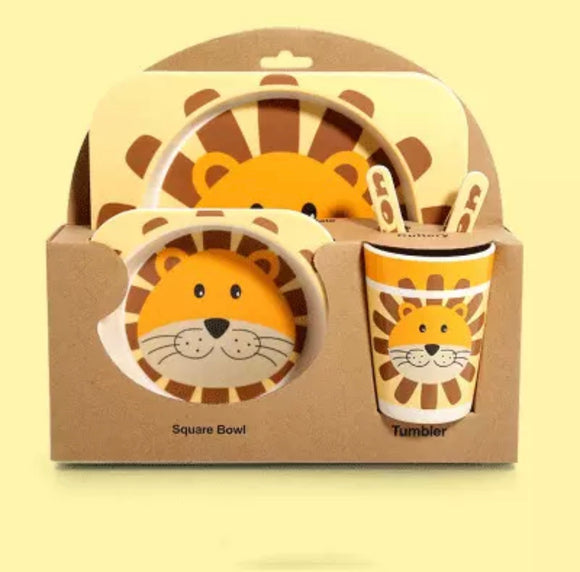 Lion 5pcs Dining Set