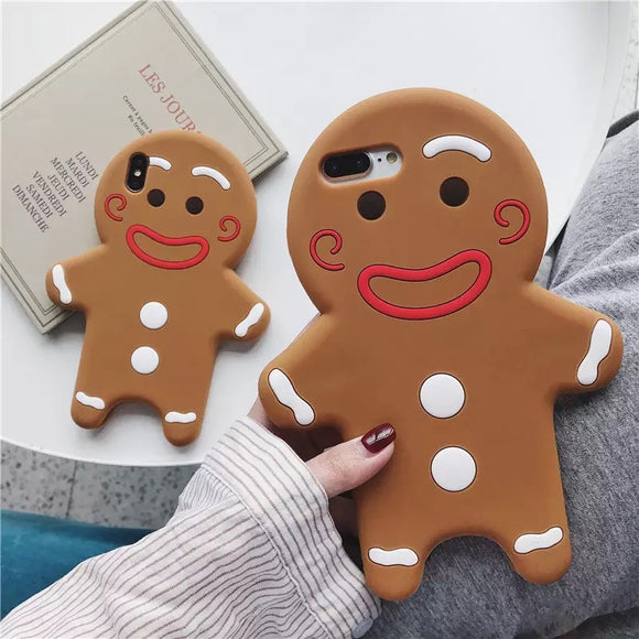 DDLGVERSE Gingerbread Man iPhone Case 2 Views