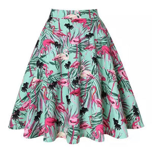 Flamingo Skirt