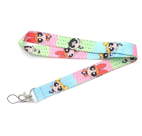 PowerPuff Girls Lanyard