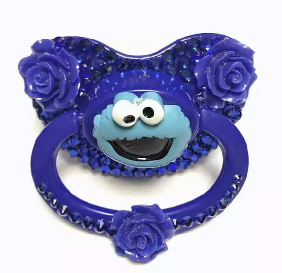 Cookie Monster Adult Pacifier