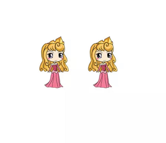 DDLGVERSE Sleeping Beauty Stud Earrings