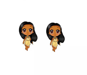 DDLGVERSE Pocahontas Stud Earrings