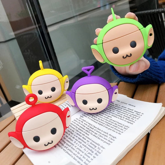 DDLGVERSE Teletubbies Head AirPod Case Mulitple Colours