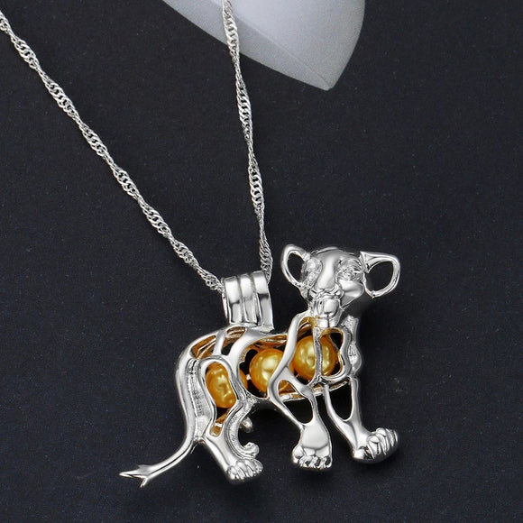 Simba Jewelled Necklace