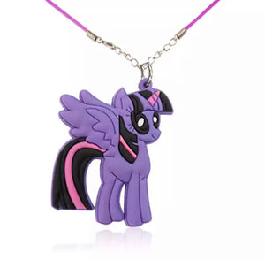 DDLGVERSE Cartoon Pony Necklace