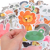 DDLGVERSE Animal Stickers Pack - close up of lion
