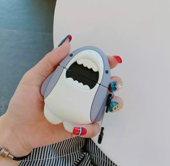 DDLGVERSE Shark AirPod Case